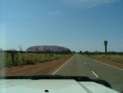 Ayers Rock en point de mire