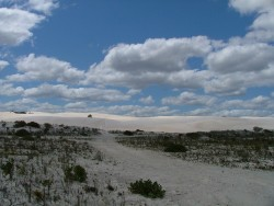 The big white dune